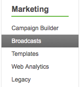 Infusionsoft marketing broadcasts,Infusionsoft support