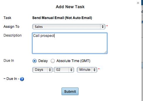 Premium Web Cart Add Sales Funnel Task