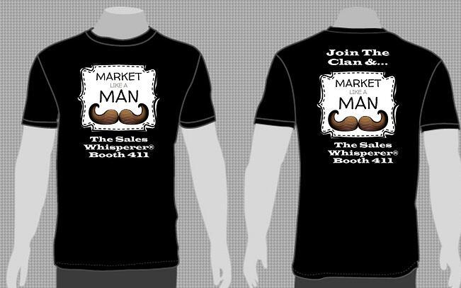 Market Like A Man T-Shirts