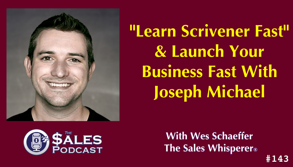 Joseph Michael is an entrepreneur that mastered digital marketing and professional development. Hear his story on The Sales Podcast