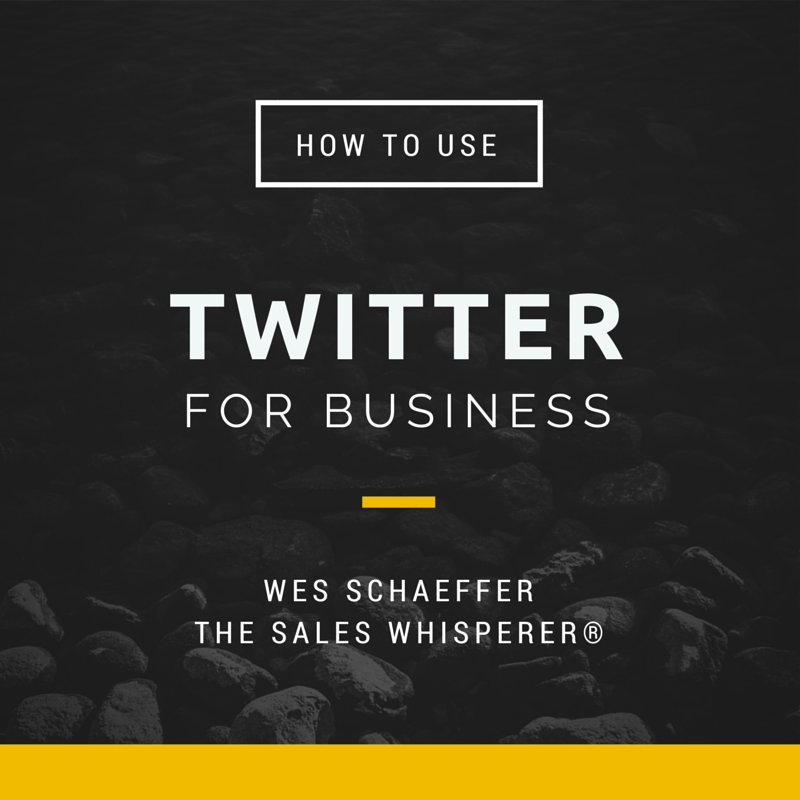 Use Twitter and other social media platforms to grow your sales.