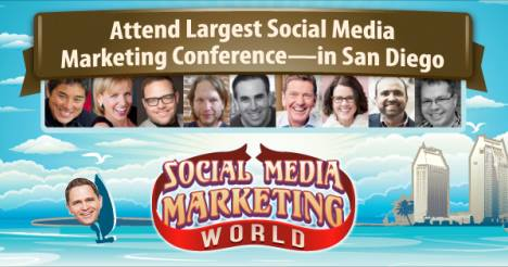 Cliff Ravenscraft Made a Cool Image of Me Speaking at Social Media Marketing World 2015