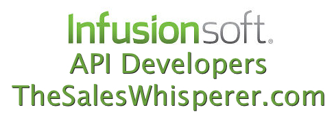 The Sales Whisperer provides Infusionsoft API Developers for your programming needs.