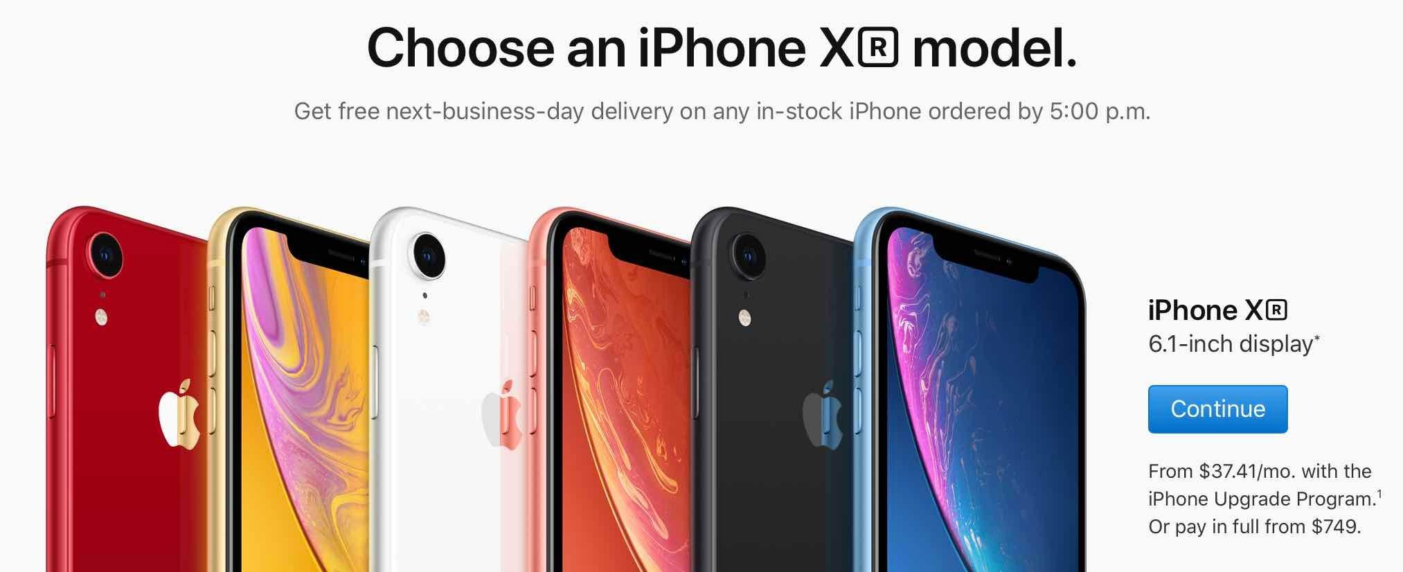 Apple iPhone Buy Now