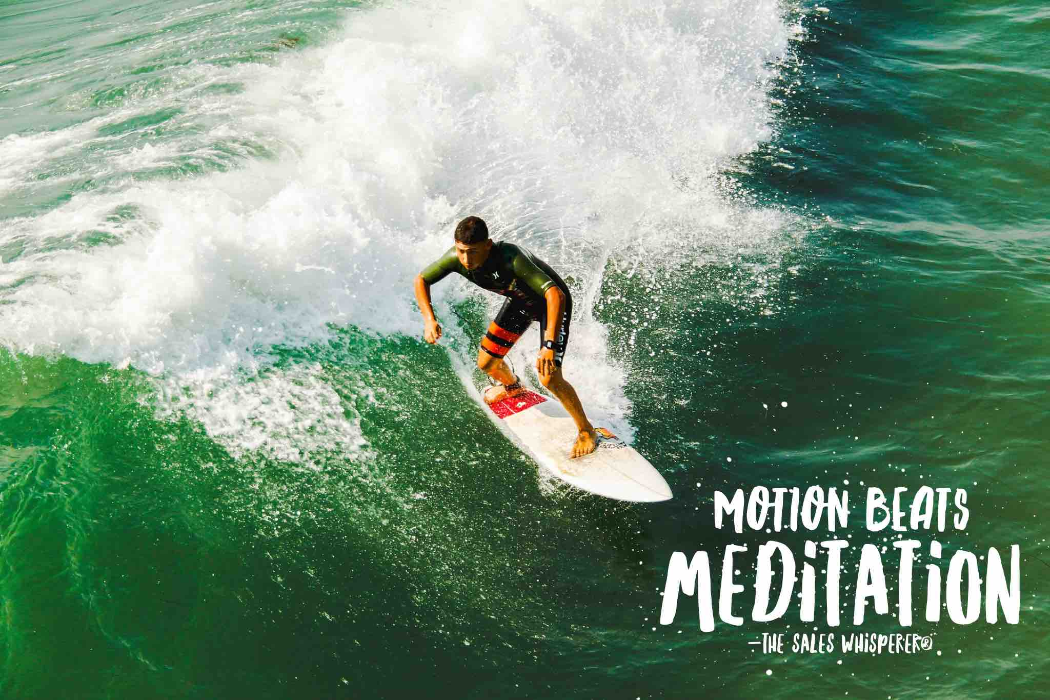 Motion Beats Meditation Wes Schaeffer, The Sales Whisperer®