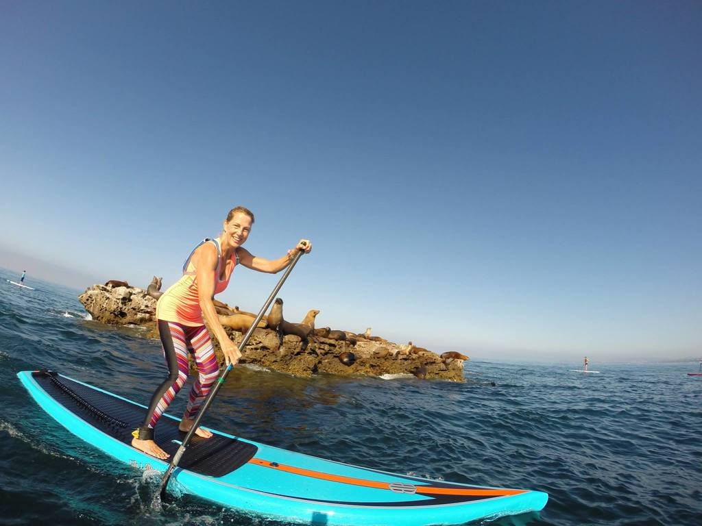 Seal Rock paddle boarding
