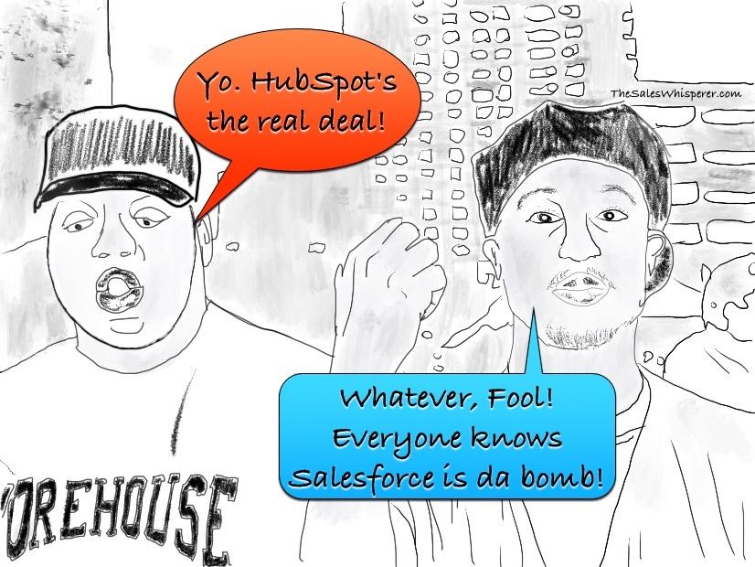 HubSpot vs Salesforce CRM, Notorious BIG vs Tupac