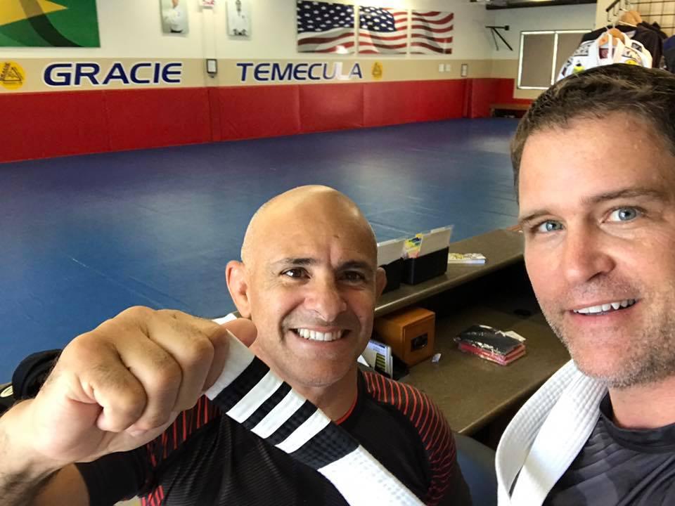 wes ricardo Brazilian Jiu-Jitsu 3 stripe white