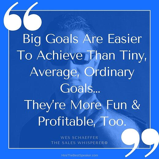 Do goal setting right and prosper from your focus.