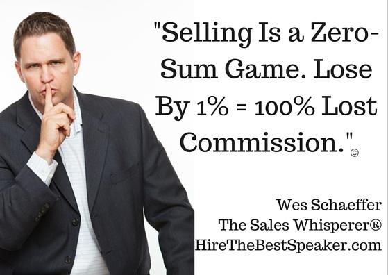 Hire the Best Speaker, Wes Schaeffer, The Sales Whisperer®