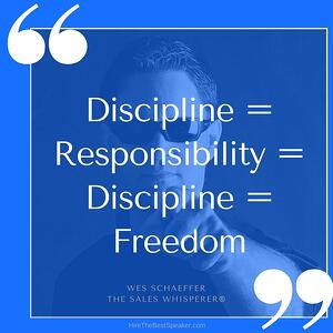 Discipline equals freedom.