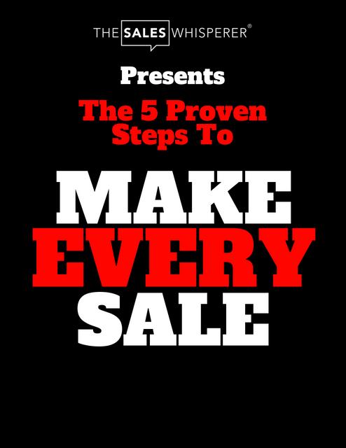 Make Every Sale keynote speaker, Wes Schaeffer, The Sales Whisperer®
