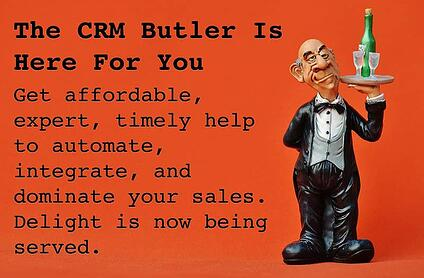 The CRM Butler can help you grow your sales