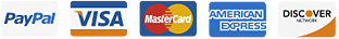 The 30 Day Sales Growth Program accepts credit cards.