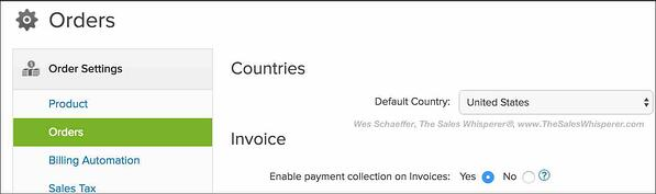 Infusionsoft tips to send quotes and collect payments