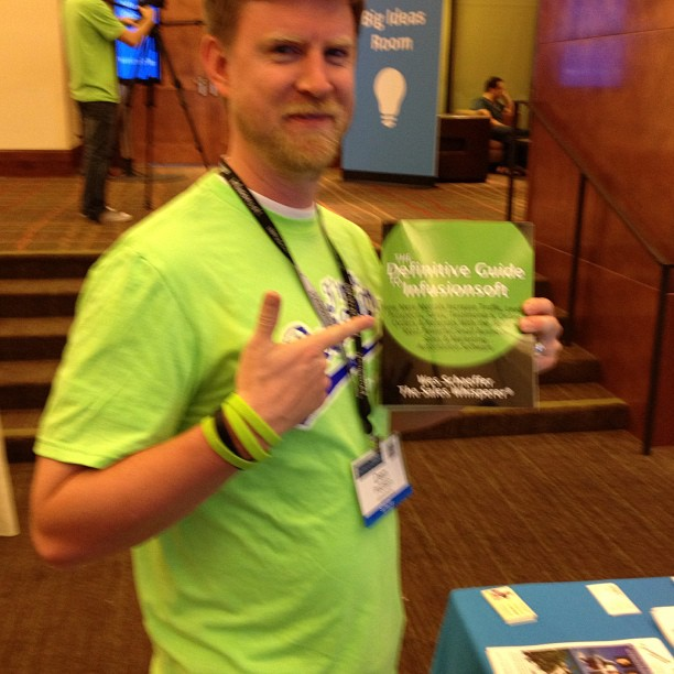 Dan Paulsen of Infusionsoft loves the Infusionsoft book.