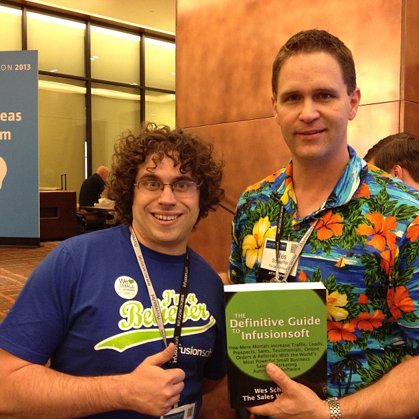 Paul Sokol of Infusionsoft fame loves the best Infusionsoft book.