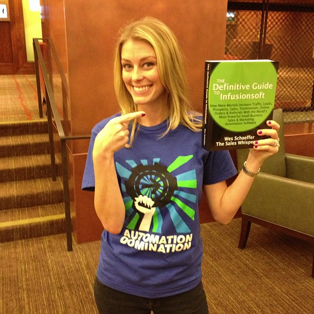 Katie Healey of Infusionsoft loves the best Infusionsoft book.
