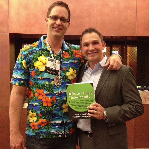 Ryan Deiss of Digital Marketer loves the best Infusionsoft book.