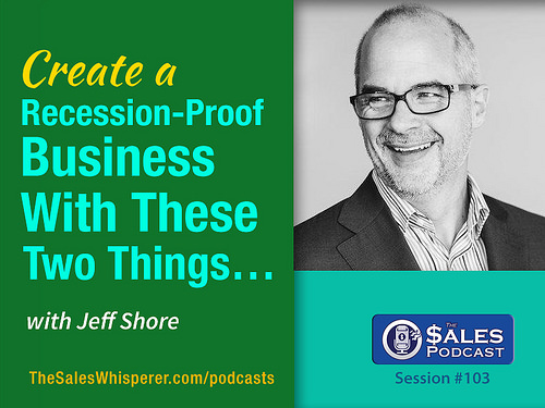 Jeff Shore on The Sales Podcast