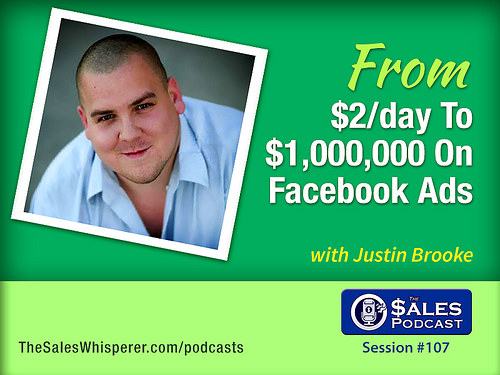 Justin Brooke on The Sales Podcast