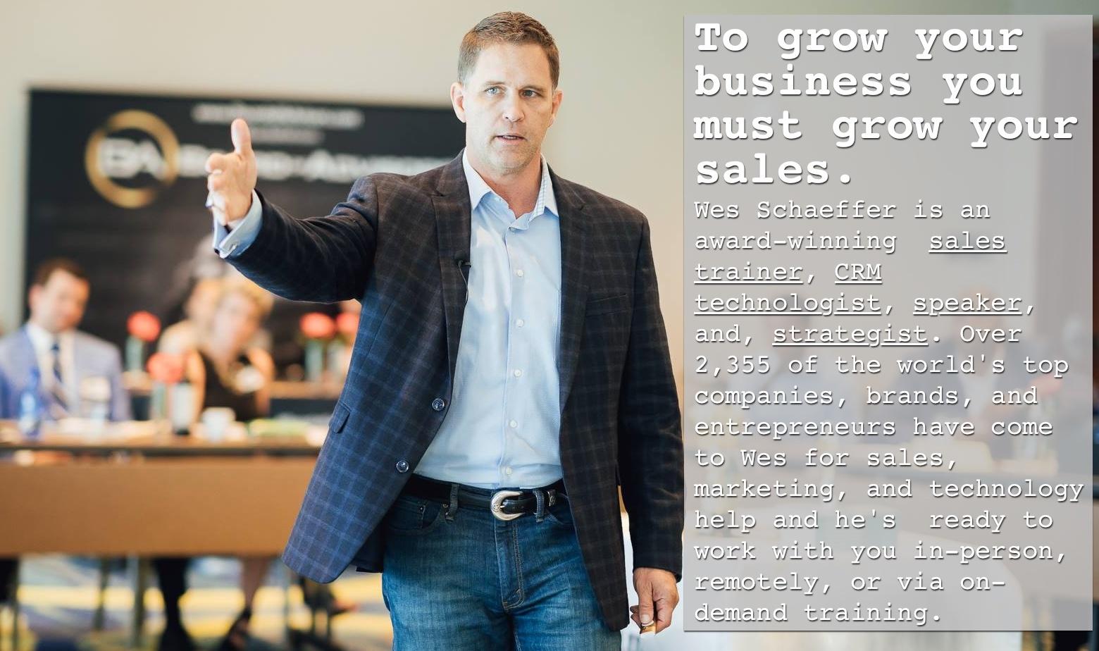 Keynote Speaker Inbound Marketing Sales Trainer Wes Schaeffer large font.jpg