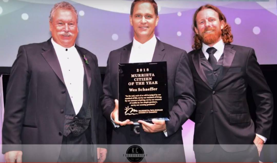 Murrieta Citizen of the Year awarded to Wes Schaeffer, The Sales Whisperer®