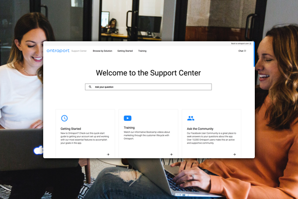 Ontraport Support Center
