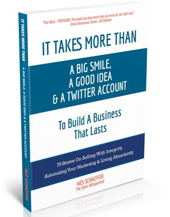 Sales Marketing Book Author Wes Schaeffer