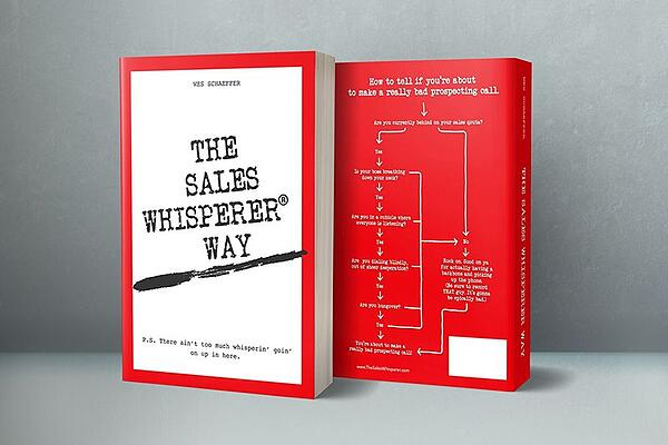 Order your signed copy of The Sales Whisperer Way