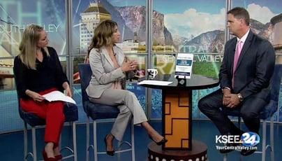 Wes Schaeffer Sales Keynote Speaker KSEE Fresno NBC interview