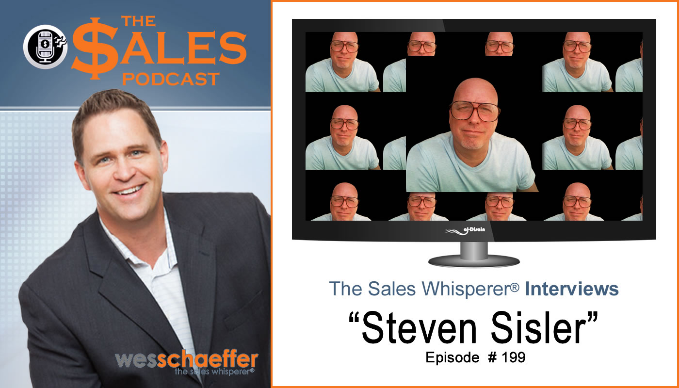 Know yourself to grow sales with Steven Sisler on The Sales Podcast.