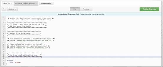 HubSpot code editor editing mode wes schaeffer.jpg