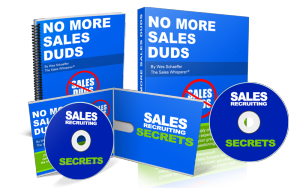 No More Sales Duds from Wes Schaeffer, The Sales Whisperer®