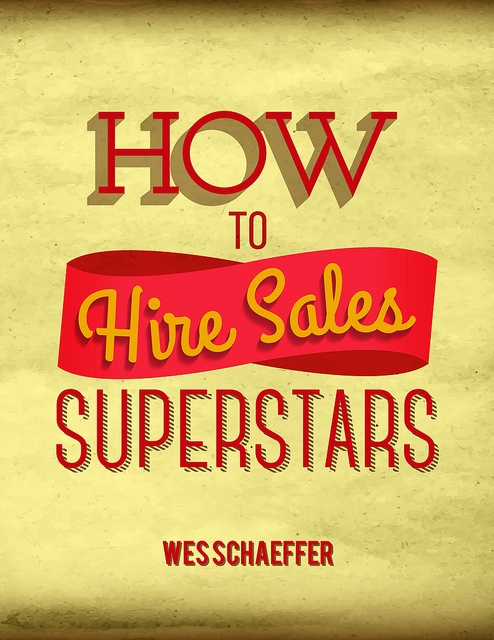 "Keynote Speaker on ""How To Hire Sales Superstars"""