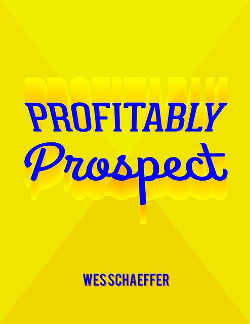 "Keynote Speaker on ""Profitable Prospecting"""