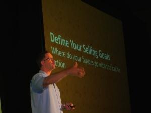 Keynote Speaker, Wes Schaeffer, The Sales Whisperer® Infusionsoft conference.