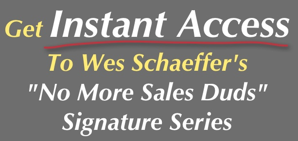 Instant Access No More Sales Duds