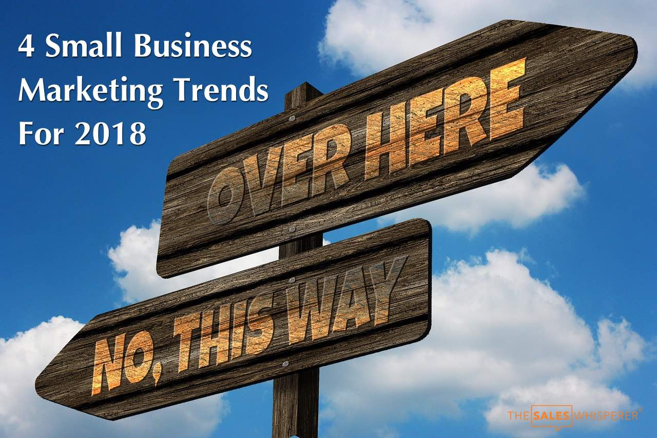 Small business marketing trends including digital marketing and marketing automation.