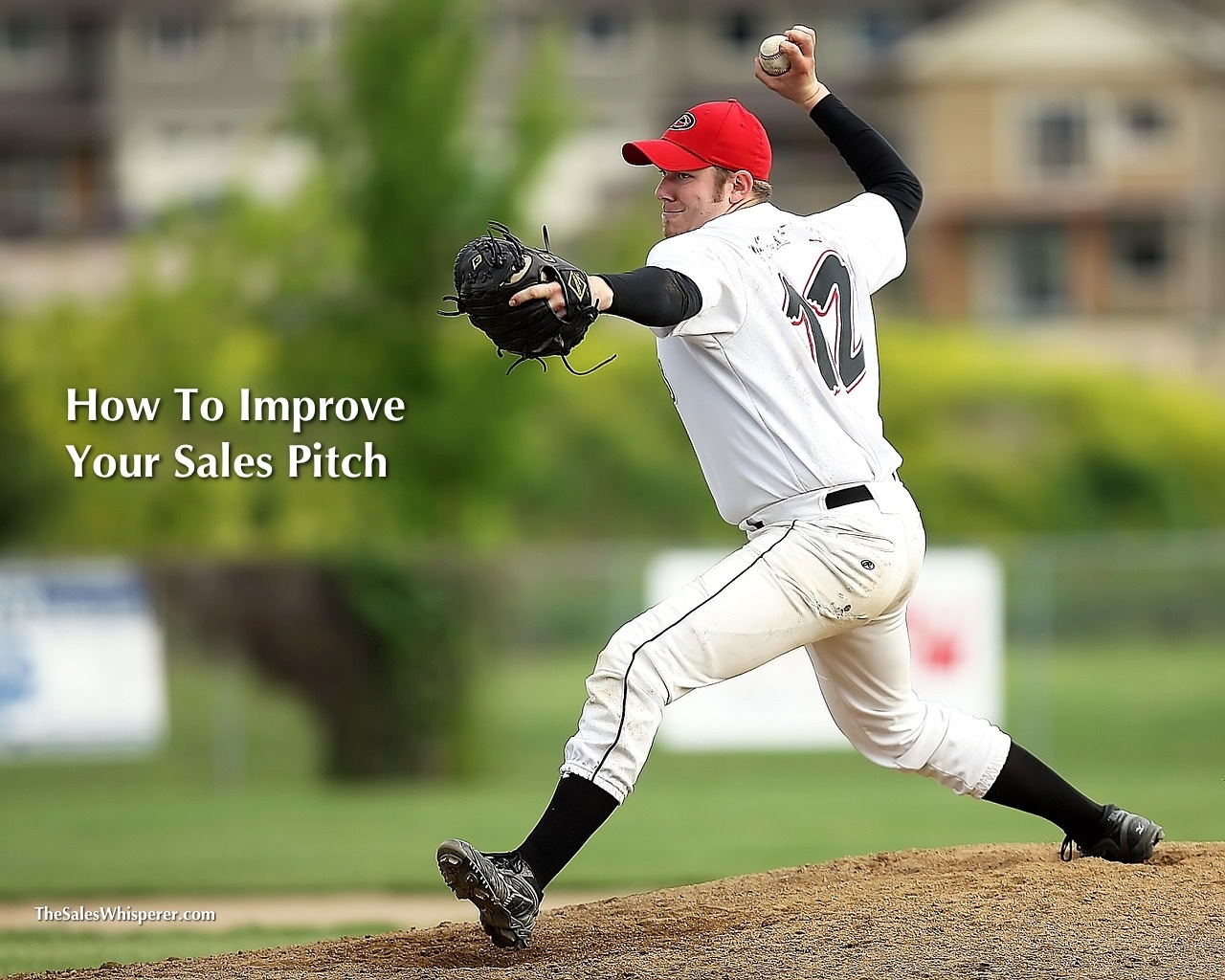 To improve your sales, improve your pitch with professional development from Wes Schaeffer, The Sales Whisperer®