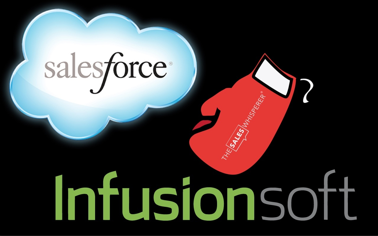 Salesforce vs Infusionsoft as a small business CRM