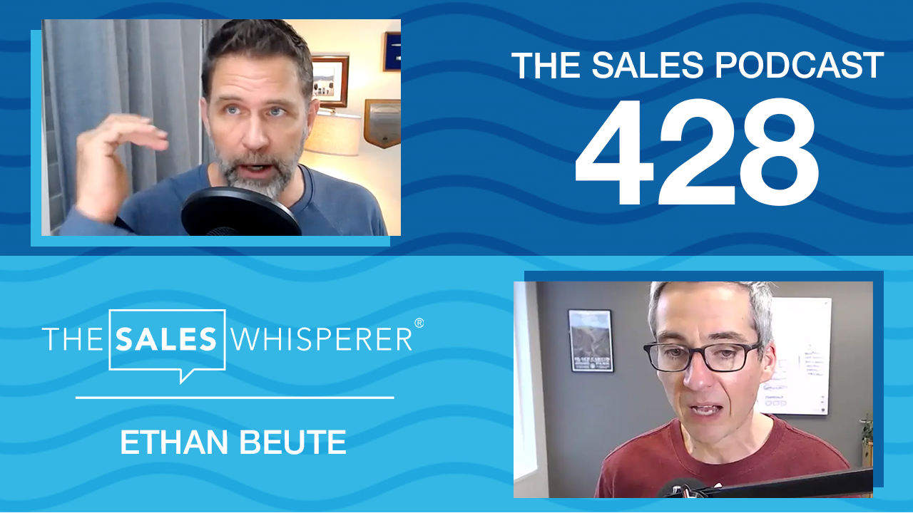 Ethan Beute of BombBomb rehumanizes marketing on The Sales Podcast with Wes Schaeffer, The Sales Whisperer®