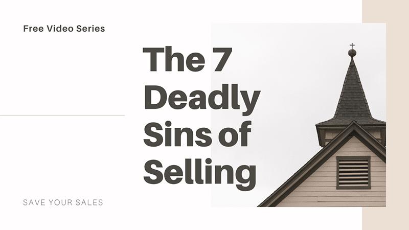 Deadly Sins Sales Church