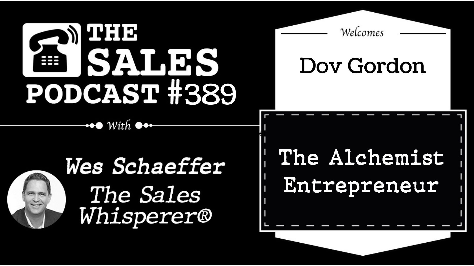 How to Create Entrepreneurial Alchemy, Dov Gordon
