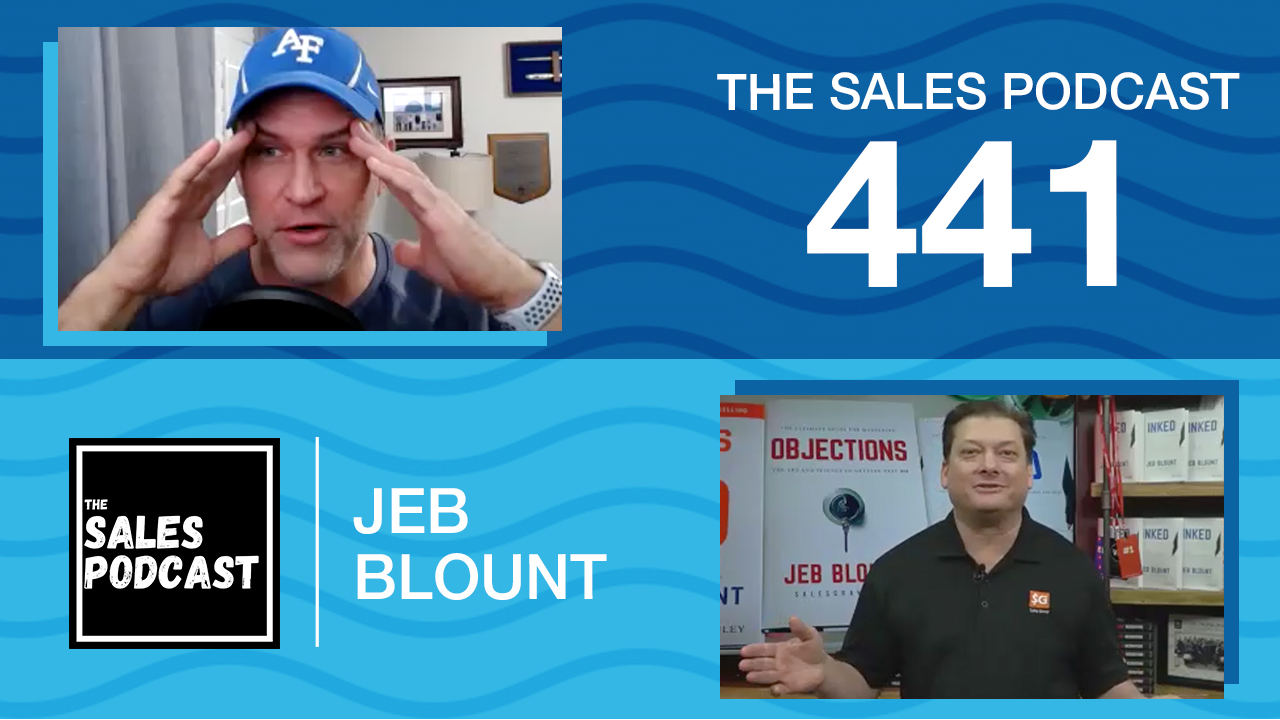 Jeb Blount shares how to negotiate to close more deals with Wes Schaeffer, The Sales Whisperer® on The Sales Podcast.