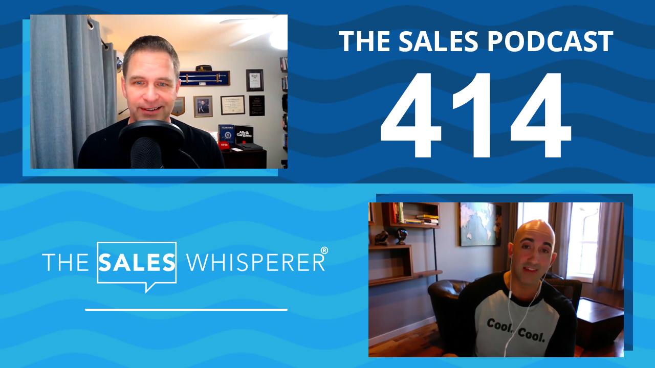 John Martinez Sales Podcast 414 Wes Schaeffer