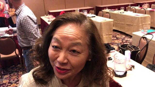 Speaker testimonial from Dr Mamiko Odegard