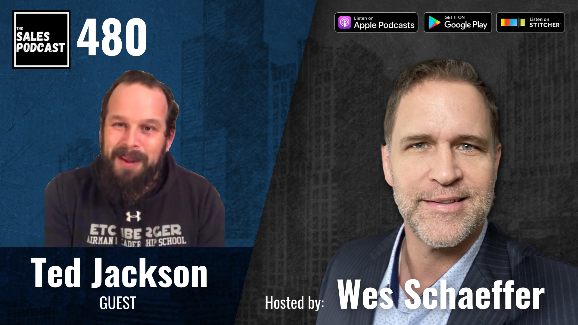 7 Marathons on 7 Continents In 7 Days, Meet Ted Jackson on The Sales Podcast with Wes Schaeffer, The Sales Whisperer®