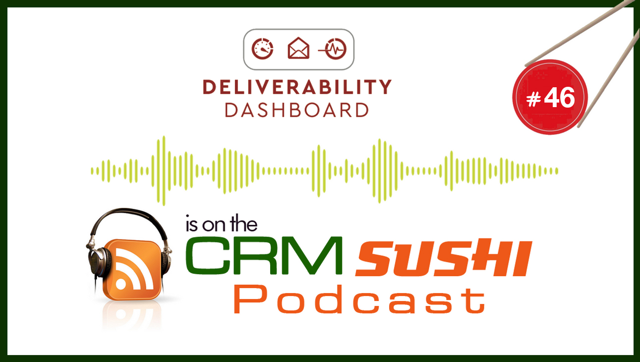 See How To Improve Your Email Deliverability With Adrian Savage on CRM Sushi Podcast with Wes   Schaeffer, The Sales Whisperer®