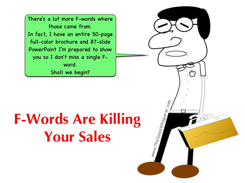 Sales Wimp F-Words